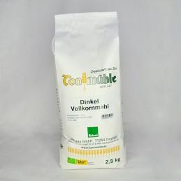 Bioland Dinkel-Vollkornmehl - 2,5 kg