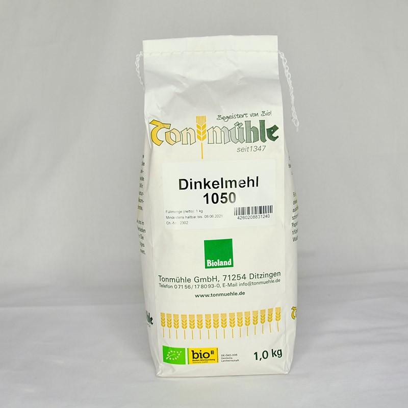 Bioland Dinkelmehl 1050 - 1 kg