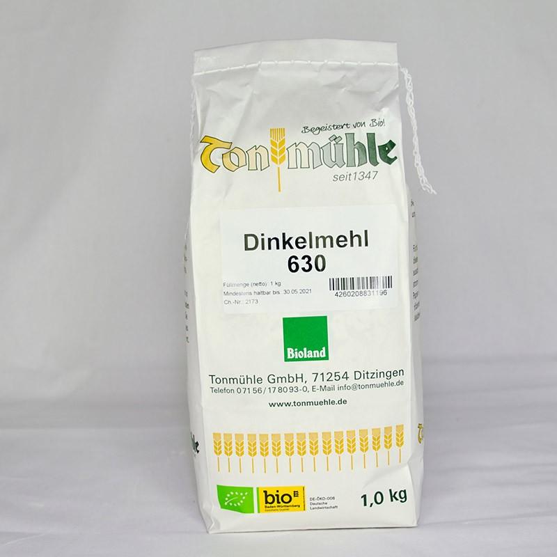 Bioland Dinkelmehl 630 - 1 kg
