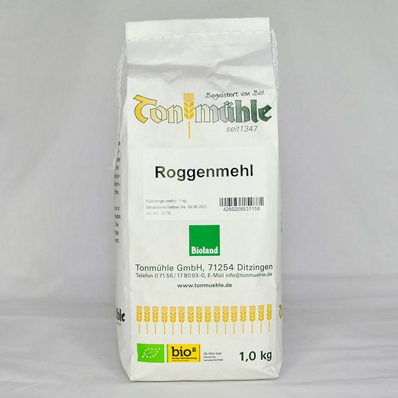 Bioland Roggenmehl - 1 kg