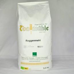 Bioland Roggenmehl - 5 kg