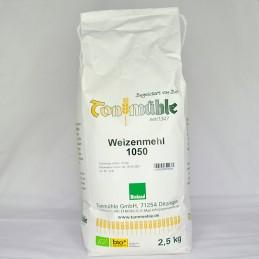 Bioland Weizenmehl 1050 - 2,5 kg