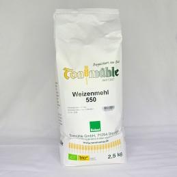 Bioland Weizenmehl 550 - 2,5 kg