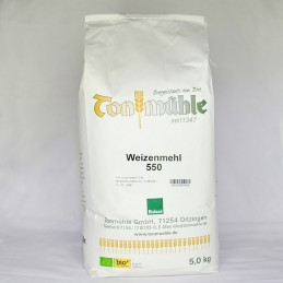 Bioland Weizenmehl 550 - 5 kg
