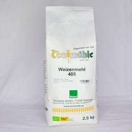 Bioland Weizenmehl 405 - 2,5 kg