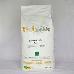 Bioland Weizenmehl 405 - 5 kg